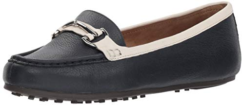 Navy Combo - Aerosoles Women's Along Driving Style Loafer, Navy Combo, 9.5 M US