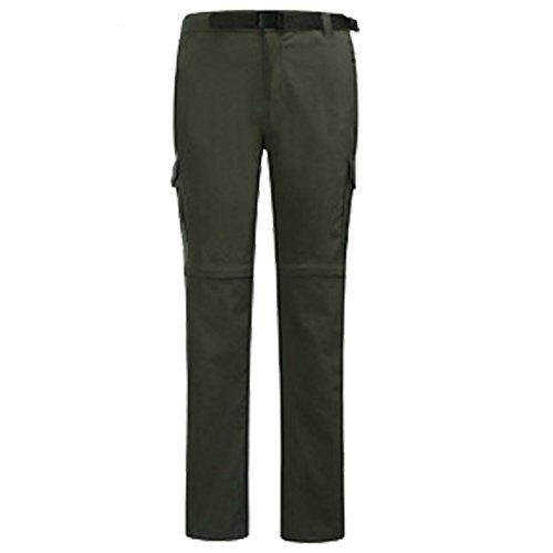 Peluche Dyf Skid Sci m Colore Ispessita Dei Verde Resistenza Salita Militare Pantaloni L Solido w4UHXw