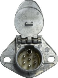 Midland 39789 Truck and Trailer 7-Way ISO Socket