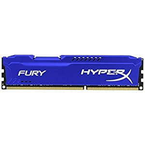 Kingston HyperX FURY 8GB 1866MHz DDR3 CL10 DIMM - Blue (HX318C10F/8) 31 vYj9ZTXL. SS300