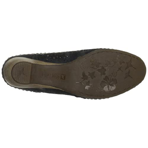 AgeeMi Shoes Mujeres Slingback Hebilla Tacón Bajo Elegante Casual Verano Zapatos,EuD09 Negro 38