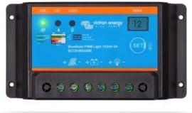 Azul controlador de Carga Solar PWM-Light 12/24V - 30A