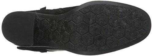 Mjus 270211-0101-6002, Zapatillas de Estar por Casa para Mujer Negro - negro