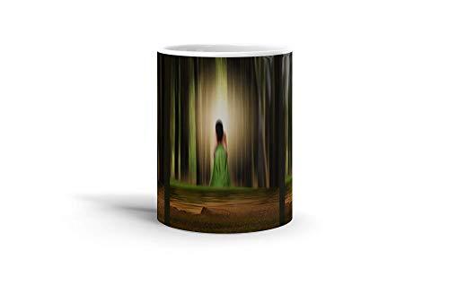 Ceramic Coffee Mug Phantasy Imagination Cup By Chrissie Judge Fantasy Dream Drinkware Super White Mugs Family Gift Cups 11oz 325ml]()