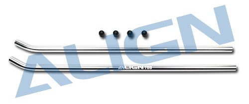 Align Skid Pipe - Yoton Accessories Align Trex 700 Skid Pipe /Silver HN7049QF Trex 700 Spare Parts with Tracking
