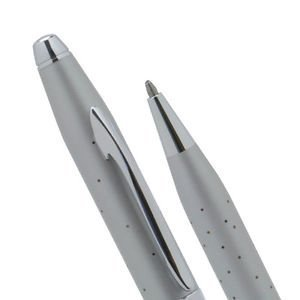 Cross Starlite Cool Sophistication , Hollywood Glamor and Galaxy of Rhodium Stars Limited Edition Gray Ball Point Pen by A .T CROSS ()