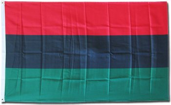 Flag Afro American 3x5 3 x 5 African Banner