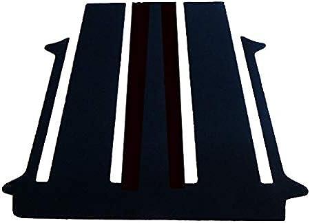 Autix Gastraum Kofferraum Teppich Fußmatte Für Vw T6 1 California Beach Tour 2 Türen Auto