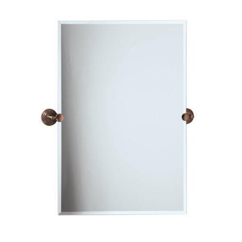 Gatco 4920S Marina Frameless Rectangle Mirror, 31.5