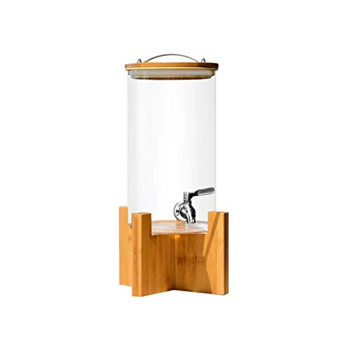 JRPN Cooler Machine Cold Drink Dispenser Commercial Beverage Dispenser Juice Drink Dispenser 3L/4L/5L Juice Container Hotel Buffet Fresh/Transparent / 5L