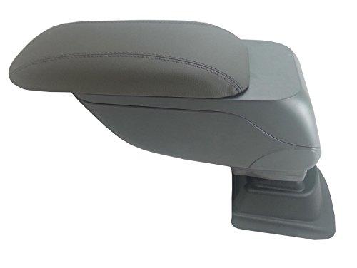 Otros Gris Plegable superior de piel apoyabrazos Sliding Specific Fit para VW Polo Mk52009+