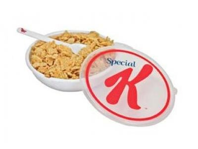 Kellogg's Special K Travel Bowl and Spoon from Evriholder