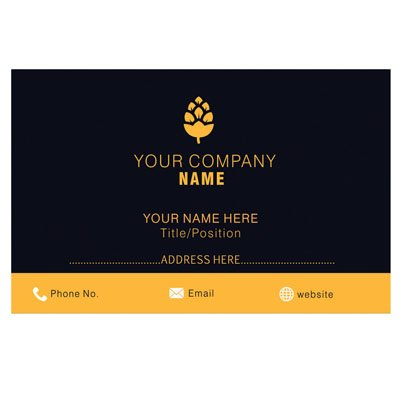 design your own personalized business cards custom logo professional company visiting card - Personalized Business Cards