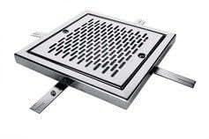 Fluidra 00285 - Reja de desagñe pisc. horm. 300x300 mm aisi-304