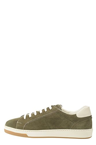 DOUCAL'S - Zapatillas de Piel para hombre verde Verde 43.5