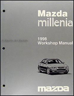 1998 mazda millenia repair shop manual original mazda amazon com rh amazon com 2002 mazda millenia repair manual mazda millenia repair manual pdf