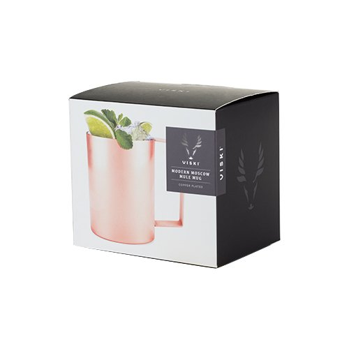 Viski 5212 Summit Copper Double Walled Travel Insulated Drink Tumblers
