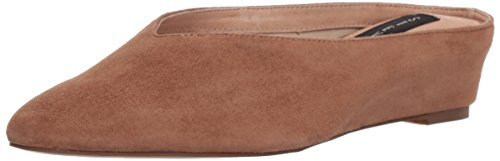 STEVEN by Steve Madden Women's Aries Mule, tan Suede, 8 M US