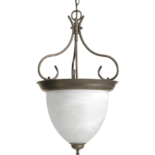 Progress Lighting P3458-20 4-Light Foyer, Antique Bronze ()