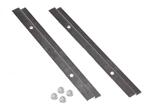 Weber # 98056 Catch Pan Rails w/ hardware for SOME Spirit & Silver A ()