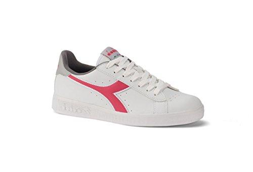 Diadora Shoes Running Sneaker Jogging Women Game P White/paradise pink 38,5 Bianco Size 7.5