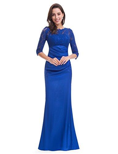 Ever Vestido Pretty Blue para mujer HE09882SB14 Azul Sapphire gnga7rTxEW