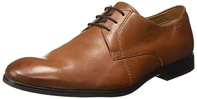 Ruosh Light Brown Formal Shoes For Men, 44 EU
