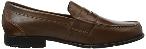 Rockport Classic Loafer Penny Dark Brown, Mocassini Uomo Marrone (Dark Brown)