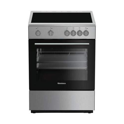 Blomberg BERU24202SS 24'' Electric Range with 4 Elements 2.4 cu. ft. Oven Capacity Storage Drawer Easy Clean Enamel Finish Residual Heat Indicators in Stainless