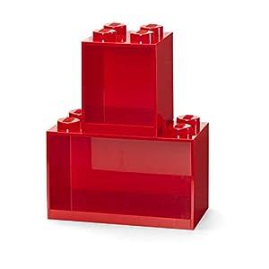 Room Copenhagen Set di mattoncini Lego, 2 Pezzi, Rosso, One Size  LEGO