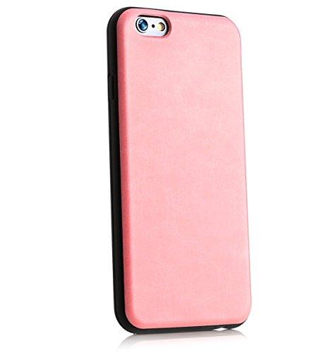 ArktisPRO Kautschuk Schutzhülle für Apple iPhone 6 rosa