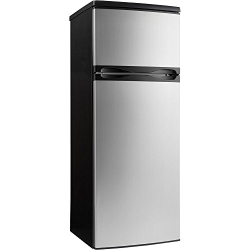 Price comparison product image Danby DPF073C1BSLDD Designer 7.3 cu.ft. Two Door Apartment Size Refrigerator,  Steel