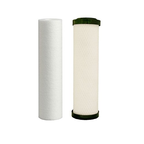 Watts Premier 560088 Lead, Cyst, VOC Carbon Block Two Stage Replacement Filter Pack