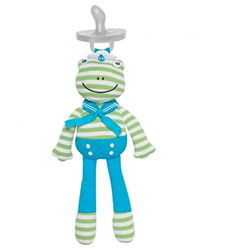 Organic Farm Buddies Pacifier Buddies Skippy Frog