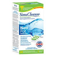 Sinucleanse Nasal Wash System - SinuCleanse Neti Pot All Natural Nasal Wash System, 1 ea - 2pc