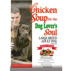 Chicken Soup for the Dog Lover's Soul Dry Dog Food for Adult Dog, Large Breed Chicken Flavor, 35 Pound Bag, My Pet Supplies