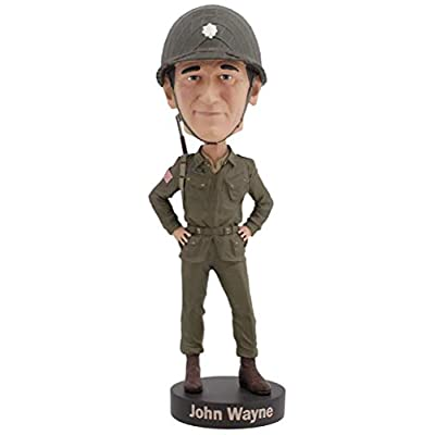 Royal Bobbles John Wayne Military WWII Bobblehead: Toys & Games