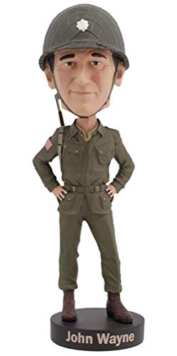 Royal Bobbles John Wayne Military WWII Bobblehead