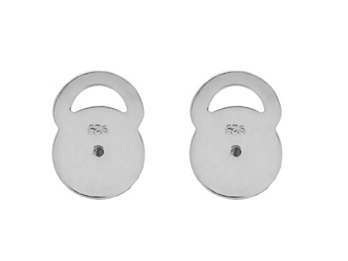 Fronay Collection Sterling Silver Earring Lifts Secure Backs