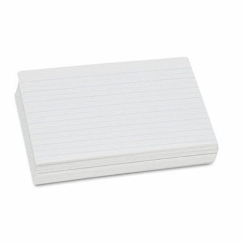 PACON CORPORATION 2621 Alternate Dotted Ruled Newsprint Paper, 1'' Rule, 11 x 8-1/2, White, 500 Shts/Pk by Pacon
