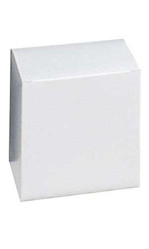 Count of 100 Gift Boxes - White - 85102 with 6''L x 6''W x 6''D