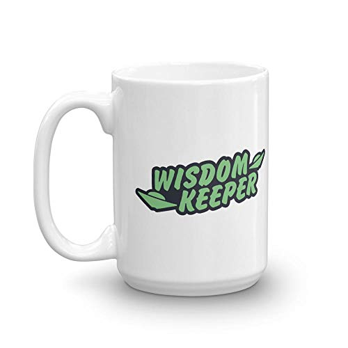 (Ancient Aliens - Wisdom Keeper 15 oz White Mug)