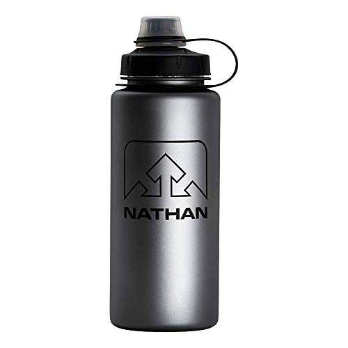 Nathan LittleShot BPA- Free Water Bottle, Narrow & Wide Mouth, 24oz/ 750ml