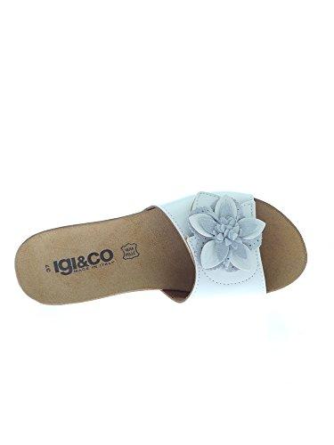 Igi&Co - Sandalias de vestir para mujer Bianco
