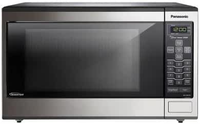 Countertop/Built-In Microwave Oven with Inverter Technology
