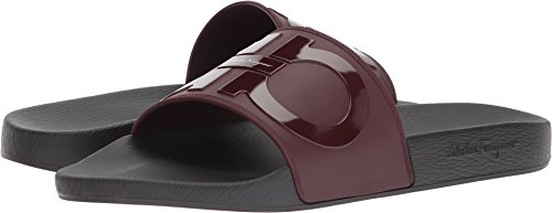 discount looking for Salvatore Ferragamo Men's Groove 2 Slides Wine discount how much kedHDMCrvt