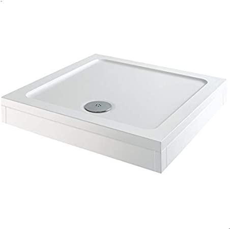 Low Profile Shower Tray 700mm 800mm Square Trays /& 1100 x 900mm 1700 x 800mm