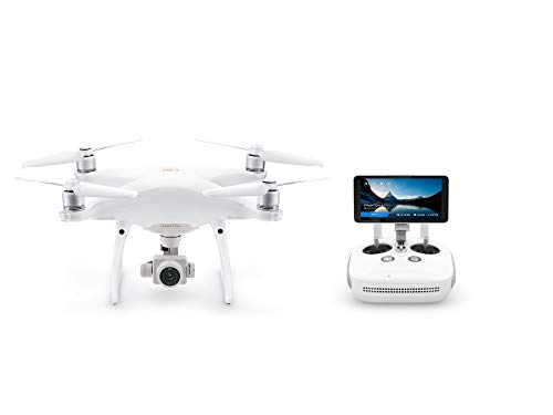 DJI Phantom 4 Pro Plus V2.0 – Drone Quadcopter UAV with 20MP Camera 1″ CMOS Sensor 4K H.265 Video 3-Axis Gimbal, Remote Controller with 5.5″ Screen, White (CP.PT.00000234.01)