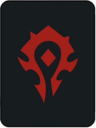- Officially Licensed Blankets and Throws Twin and Queen size Luxury Plush Medium weight Bedding Blanket World of Warcraft WOW Horde Alliance Blizzard legion games armony (Queen, Horde)