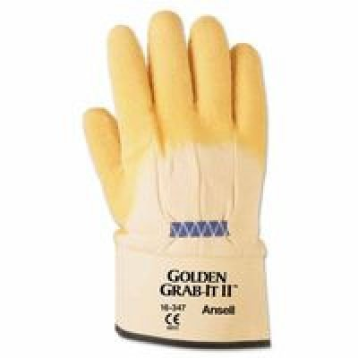 Gloves Cotton Ansell (CutRes Gloves, XL, Yellow, PR)